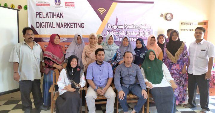 Pelatihan Digital Marketing KUBE Marleena