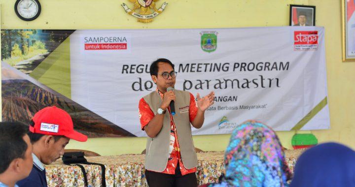 REGULAR MEETING PROGRAM DEWI PARAMASTRI